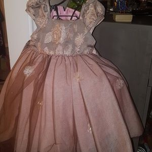 Biscotti dusky Rose dress size 24 months Beautiful